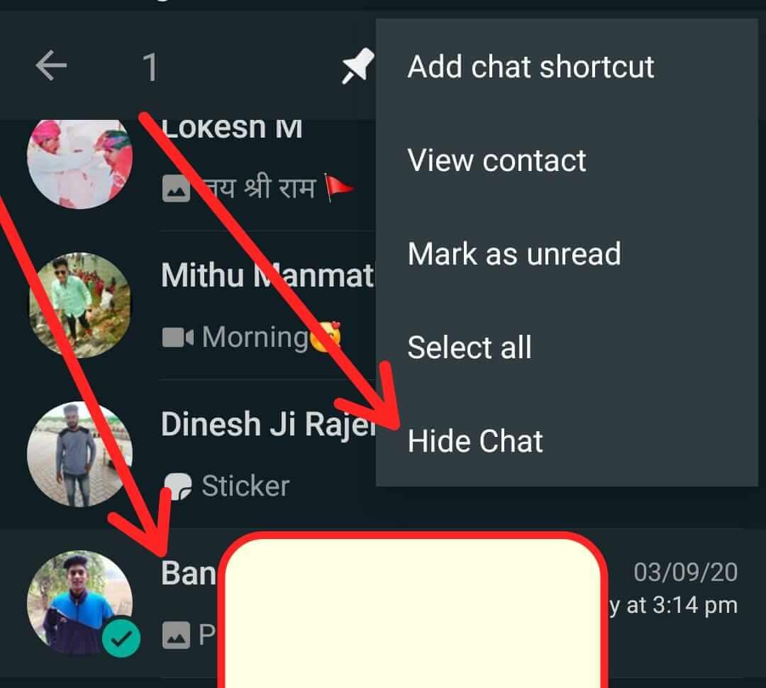 Whatsapp Chat Hide कैसे करें Whatsapp Chat Lock कैसे करें whatsapp par number hide kaise kare whatsapp contact hide kaise kare whatsapp chat lock kaise kare whatsapp par kisi ka number hide kaise kare whatsapp hide kaise kare