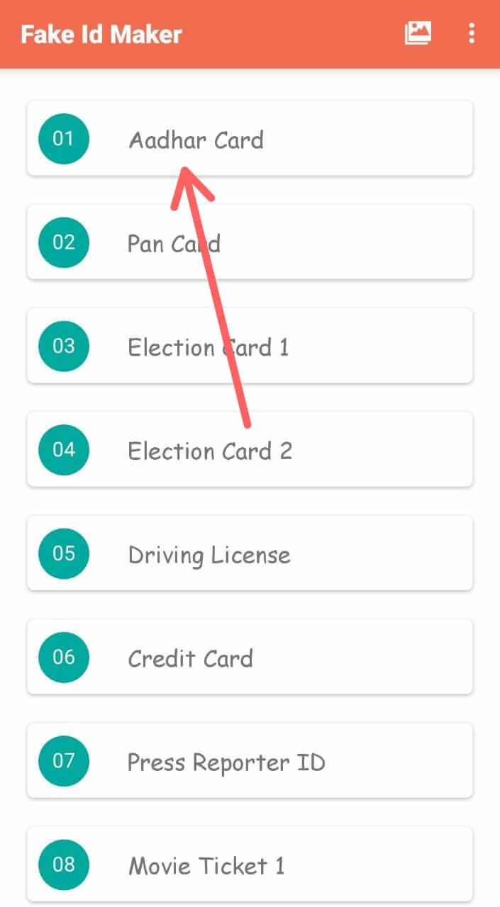 Fake Aadhar Card कैसे बनाये Fake aadhar card maker से नकली आधार कार्ड कैसे बनाये Fake Aadhar Card क्या होता हैं Duplicate ID Card बनाने वाले Best Android Apps नकली आधार कार्ड कैसे बनाये