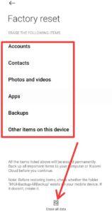 Phone को Reset कैसे करें MI Phone को Reset कैसे करें Samsung Mobile को Reset कैसे करें Mobile Reset करना हैं Mobile Reset करने के बाद चालू कैसे करें