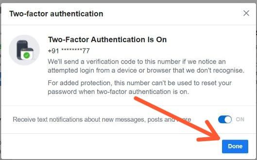 Facebook 2 Step Verification कैसे Enable करें Facebook Two Step Verification क्या हैं Facebook Two Step Verification कैसे Disable करें How to enable facebook two step verification Facebook Two Step Verification का तरीका
